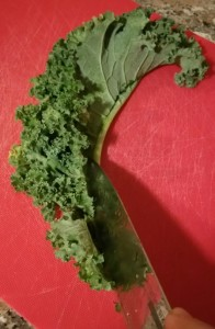kale to cut