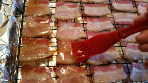 Bacon - basting