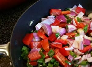 Sweet potato veggies