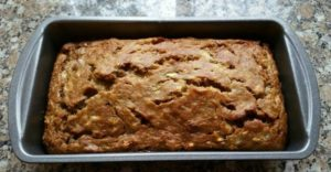 Banana Bread--Baked