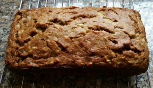 Banana Bread--Cooling