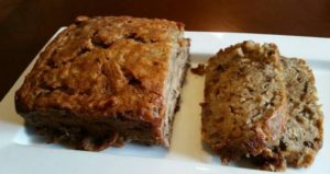Banana Bread--Sliced