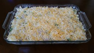 Chicken Cauliflower Casserole--ready to bake