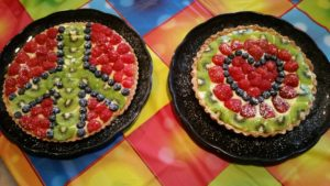 Fruit Tarts for Peace