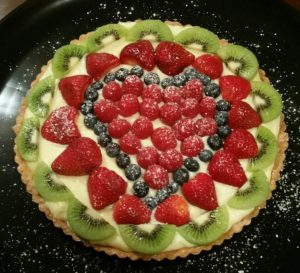 Heart Fruit Tart